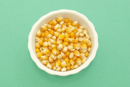yellow corn kernels photo
