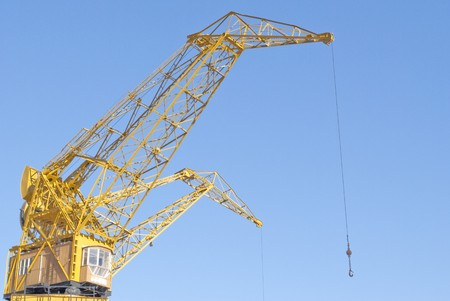port crane photo