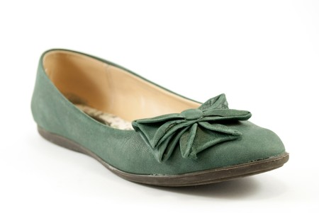 moccasin: green lady moccasin