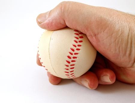 Baseball hand photo