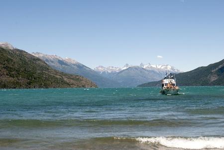nahuel huapi: Boats on Lake Nahuel Huapi, Patagonia Argentina