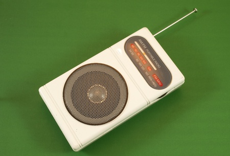 portable radio photo