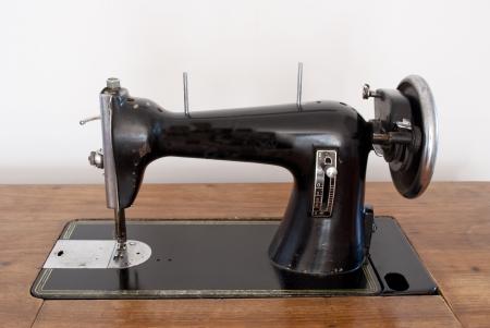 Old sewing machine photo