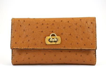 Leather purse photo