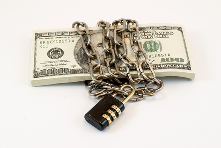 chained dollars photo