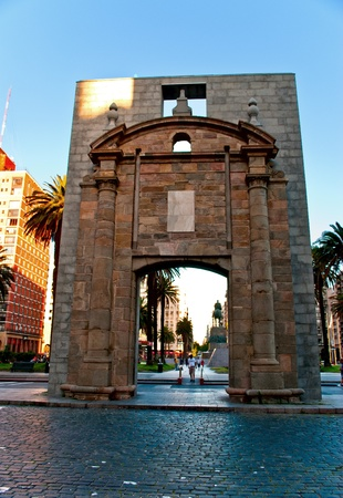 Old city, Montevideo, Uruguay