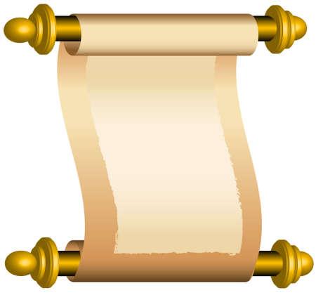 Schuif, ruimte voor uw tekst Vector Illustratie