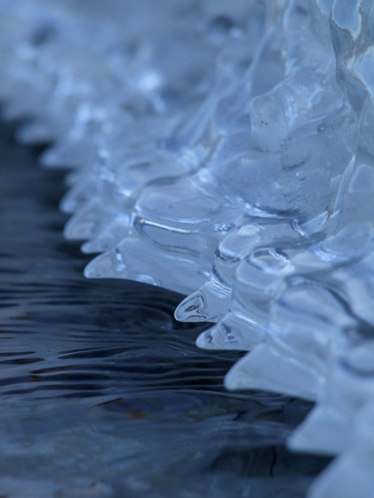 melting ice: Deshielo Foto de archivo