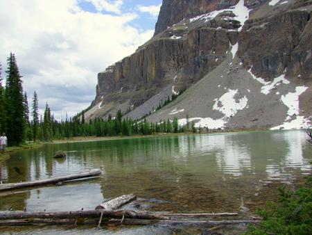 mountain lake: Mountain Lake Stock Photo