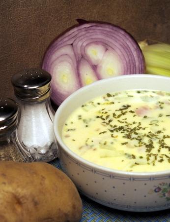 Potato Soup Stock fotó