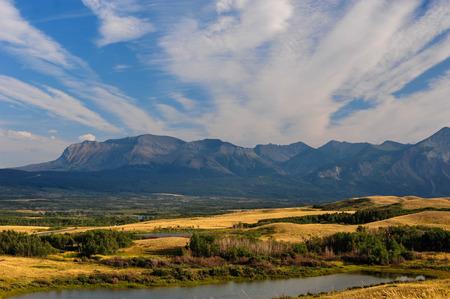 Waterton National Park Enterance Reklamní fotografie