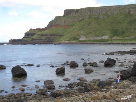 Giants causeway Ireland Stock Photo