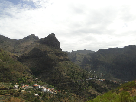 Mountain view in Mask village, Tenerife