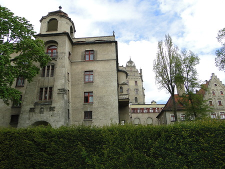 Ancient castles . Sigmaringen. Black Forest. Germany Editorial