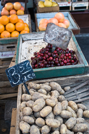 cracow: Marketplace - Cracow, Poland Stock Photo