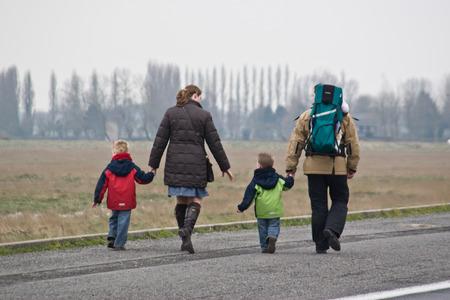 leading the way: In viaggio con la famiglia