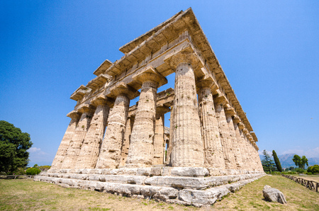 segesta: GREEK TEMPLE SEGESTA Stock Photo