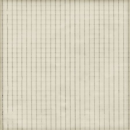 chequered: Checkered paper, vintage background texture Stock Photo