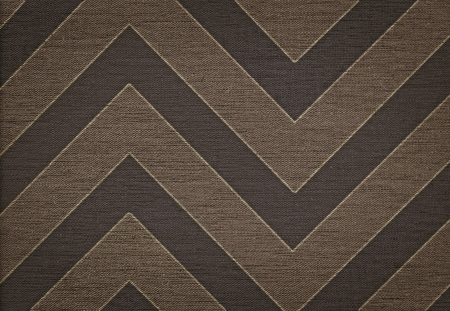 Elegant classic brown abstract chevron pattern background, grunge fabric texture photo