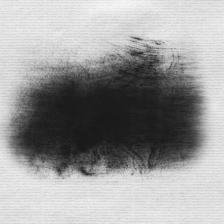daub: Hand painted black dry brush strokes, drawing paper texture  framework for your content