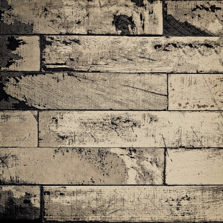 Grunge pale brown background illustration with painted wooden planks texture illustration