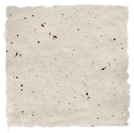 手作りのペーパー クラフト白で隔離されます。