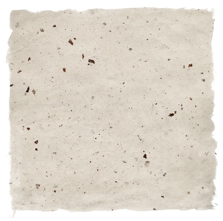 Handmade Paper isolated on white