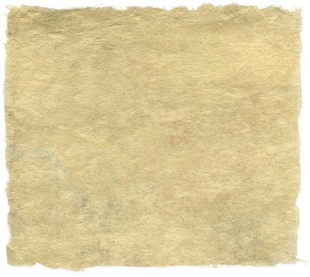 手漉き和紙白で隔離されます。