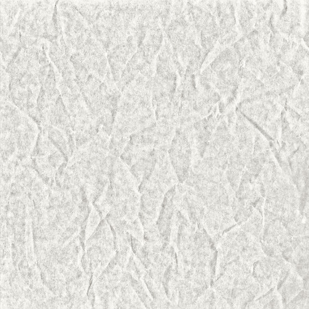 White abstract background from wrinkled wax paper and chalk texture