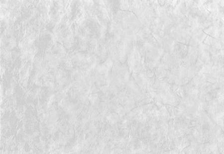 繊維の質感を持つ芸術的な手漉き和紙から白い背景 写真素材