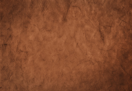 Decorative background from organic handmade paper with fibers texture