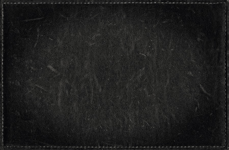 grunge frame: Black grunge background from distress leather texture