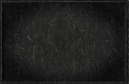 Nero grunge da texture in pelle di soccorso Archivio Fotografico - 34434344