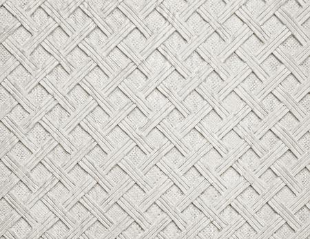 手作りの彫刻が施された木材のテクスチャから白い装飾的な背景 写真素材