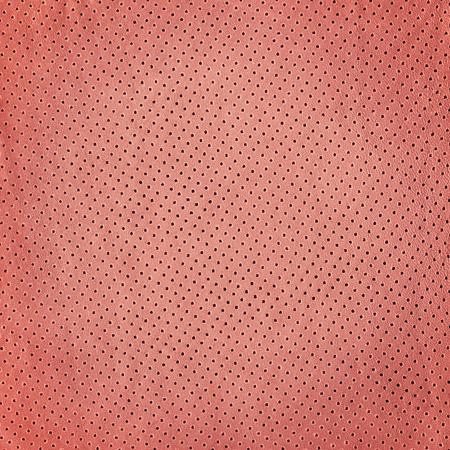 背景のピンクの革の質感