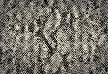 蛇皮人工皮革テクスチャから銀のビンテージ背景
