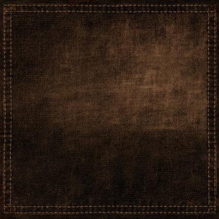 背景、ブラウン、テクスチャ、暗闇の中、布、キャンバス、壁紙、パターン、ジーンズ、フレーム、コピー、空白、空、デザイン ラベル、レトロ、
