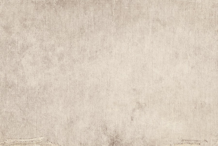 Beige canvas grunge background texture