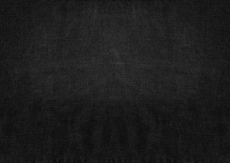 Black grunge fabric background