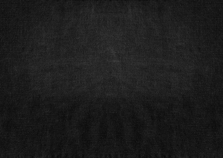 Black grunge fabric background