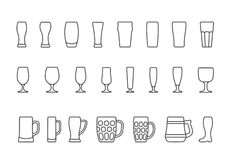 beer tulip: Beer glasses and mugs