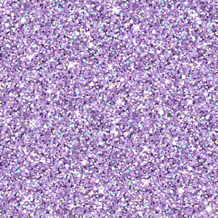Vector lilac glitter with color highlights, realistic seamless texture Vettoriali