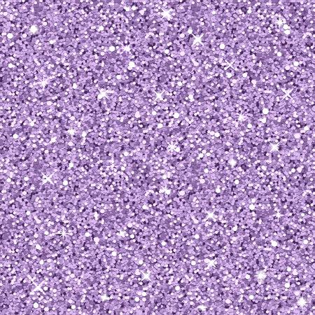 Vector lila glitter textuur, realistische naadloze patroon Vector Illustratie