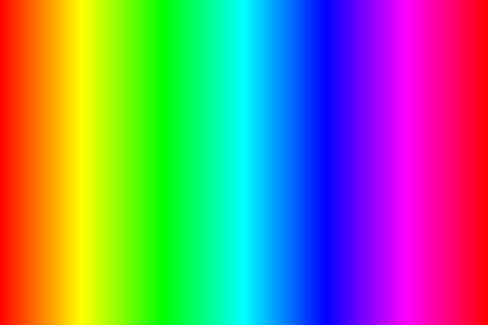 Classic color spectrum rgb, line gradient