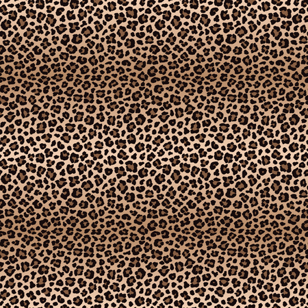 Leopard seamless pattern with color transitions Stock Illustratie