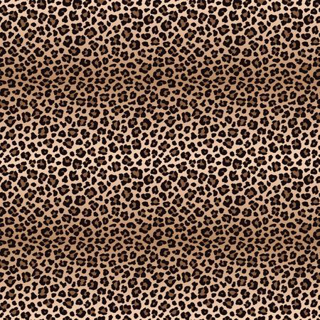 Luipaard naadloos patroon met kleurenovergangen Stock Illustratie