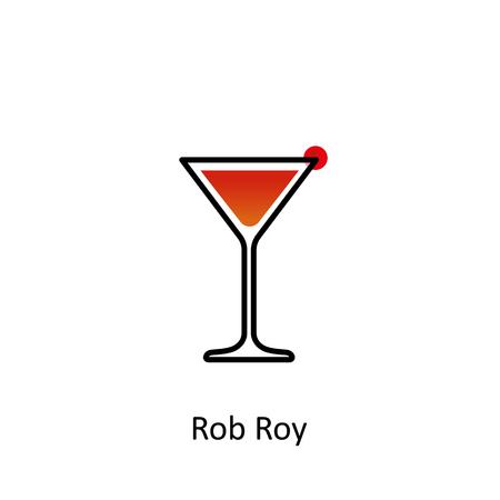 Rob Roy beverage icon