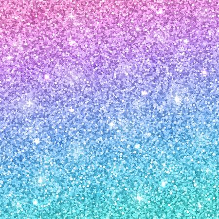Pink blue glitter background. Vector