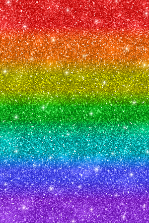 Rainbow glitter texture