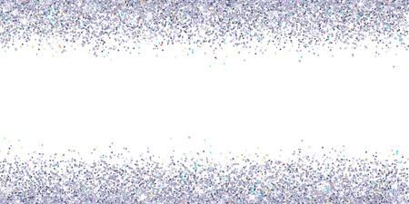 白の模様の色とシルバーの輝きが強調表示されます。  イラスト・ベクター素材